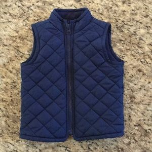 Old Navy Vest - Navy Blue - 18-24 mths